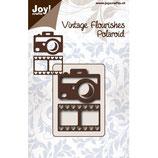 """Joy! Crafts Stanzschablone """"Polaroid-Kamera mit Filmstreifen Herz"""""""