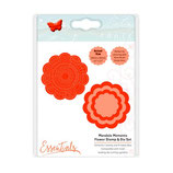 Tonic Studios mandala moments - flower stamp & die set