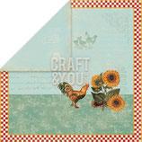 "My Home Garden 01 - Design Papier 12"" x 12"""