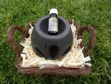 Duftlampe inkl. Zirbenöl 10 ml  (ähnlich Abbildung)