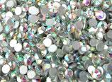 1.500 Stück Strassteine irisierend SS3