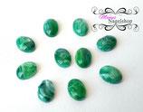 Stones  Smaragd Grün  -10 Stück-