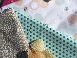 3 APIWRAPS : emballages alimentaires à la cire d'abeille