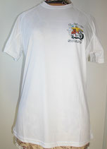 Tee-shirt Active-T modèle femme petit logo side-car côté coeur