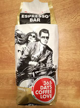 "Caffein ""Espresso Bar"" Black Label 1000 g, ganze Bohne"