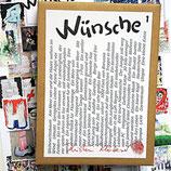 Postkartenkarton Wünsche 1