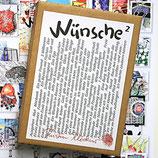 Postkartenkarton Wünsche 2