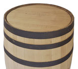 Sanded 200 liter (53 gallon) whiskey barrel