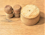 Bungs made with American white oak.