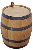 20 Liter Barrel, black hoop.