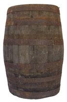 180 liter rustic barrel for decoration use.