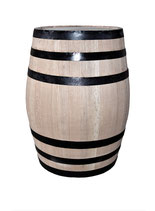 New 200 liter barrel (52 gal lqd) made with 100% American white oak.