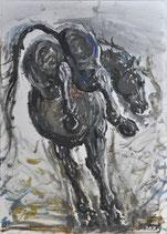 """""""Ausschlagendes Pferd"""""""