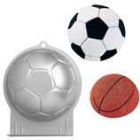 "Wilton Backform ""Fussball/Basketball"""