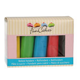 FunCakes Fondant - Multipack, Essential Colours