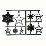 "Patchwork Cutter ""Snowflakes & Stars"""