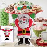"Wilton Cookie-Ständer ""Merry & Bright Santa"""