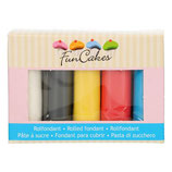 FunCakes Fondant - Multipack, Primary Colours