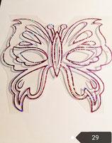 """Bügelbild Nr. 29 """"Schmetterling """""""