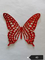 """Bügelbild Nr. 40 """"Schmetterling """""""