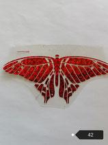 """Bügelbild Nr. 42 """"Schmetterling """""""