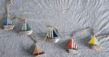 Aufhänger  Schiffe  Holz