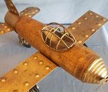 Flugzeug   Metall  Holz