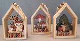 Häuschen  Holz