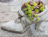 Beton Schuhe kurze Schleife