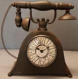 Telefon Uhr  Blech