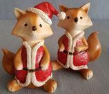 Weihnachts  Füchse  1Paar