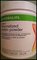 Formula3 - Personalized Protein Powder