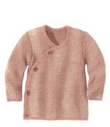 Melange-Jacke rosé-natur