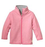 Zipper-Jacke rosa