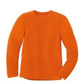 Linksstrick-Pullover orange