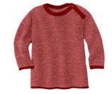 Melange Pullover bordeaux-rose