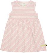 Kleid Streifen rose 6043