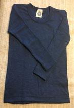 Kinder-Unterhemd langarm blau Nr. 08