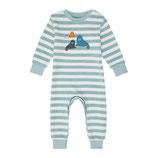 Pyjama Aqua Stripes + Walrus 2123710