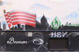 WANDTATTOO BREMEN - HSV