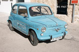 FIAT 600 BLAU