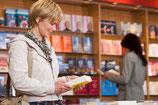 örtliche Presse und örtliche Buchhandlungen informieren