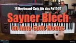 4X008 Sayner Blech - 16 Keyboard-Sets für Blech- und Volksmusik