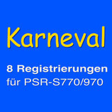 P009 - Karneval 1 - REGRISTRATION MEMORY                         für PSR-S770/970