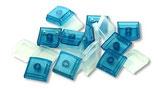 Blaue X-keys-Tasten