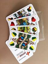 CoffeeSky Doppeldeutsche Spielkarten 36 Blatt