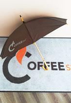 CoffeeSky Regenschirm 1 Stk. AUSVERKAUFT