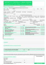 Rapporto manutenzione biomassa