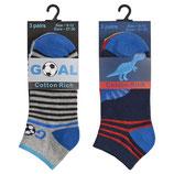 Sneakers Socken Dino & Fußball