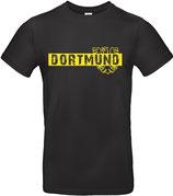 T-Shirt schwarz - Dortmund-Stadtwappen